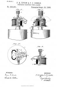 1890 Portable Fire Alarm